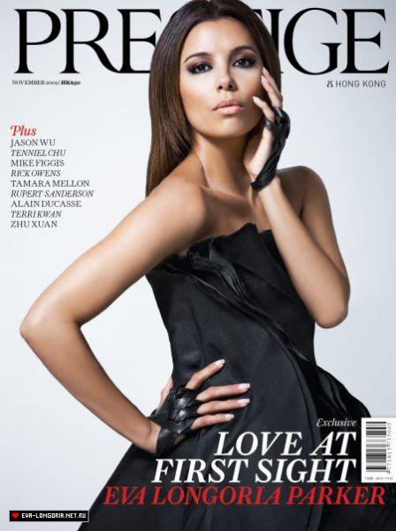 Ева Лонгория в журнале Prestige. Ноябрь 2009