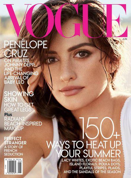 Пенелопа Крус в журнале Vogue. США. Июнь 2011