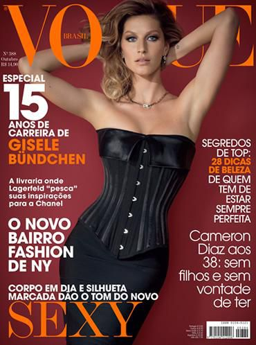 Жизель Бундхен в журнале Vogue. Brazil. Октябрь 2010