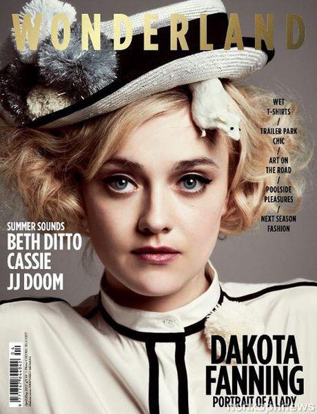 Дакота Фаннинг в журнале Wonderland. Апрель / май 2012