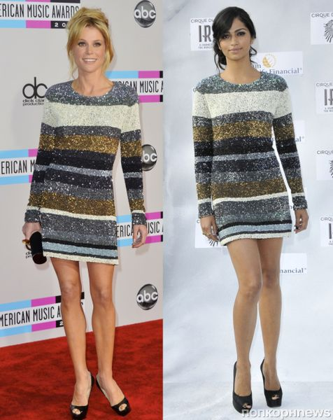 Fashion battle: Джули Боуэн и Камила Альвес