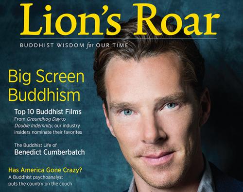 Бенедикт Камбербэтч рассказал о жизни в монастыре в интервью буддистскому журналу