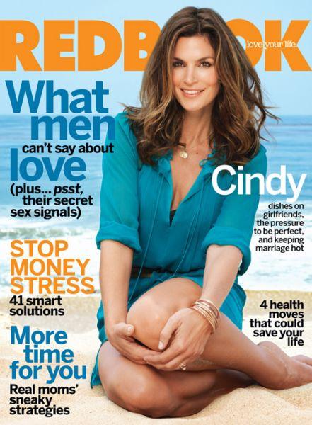 Синди Кроуфорд в журнале Redbook. Сентябрь 2009