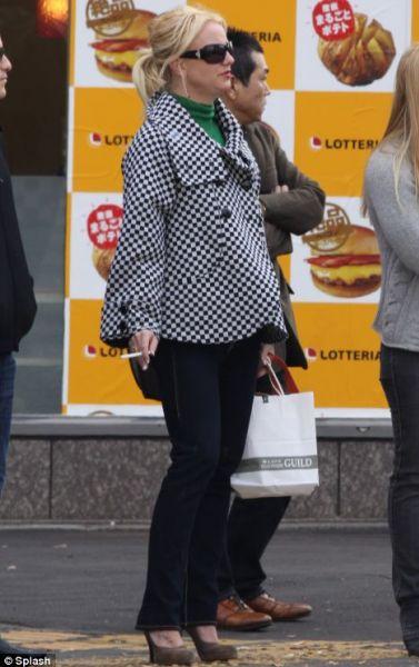 Бритни Спирс забросила диету