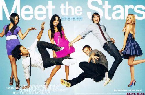 Классный мюзикл в журнале People. Октябрь 2008