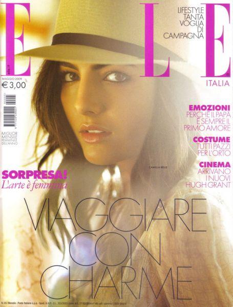 Камилла Белль в журнале Elle. Италия. Май 2009