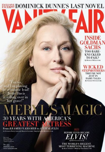 Мэрил Стрип в журнале Vanity Fair. Январь 2009
