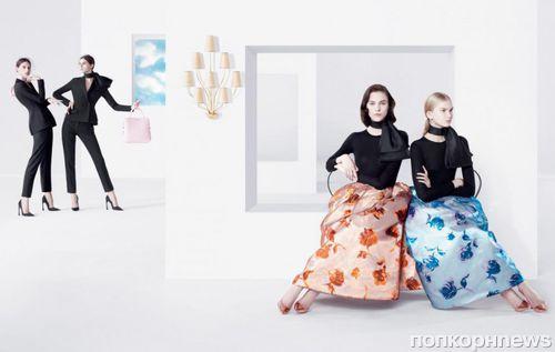 Рекламная кампания Christian Dior. Весна / лето 2013
