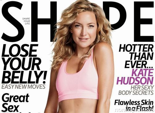 Кейт Хадсон в журнале Shape. Ноябрь 2013