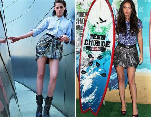 Fashion battle: Кристен Стюарт и Меган Фокс