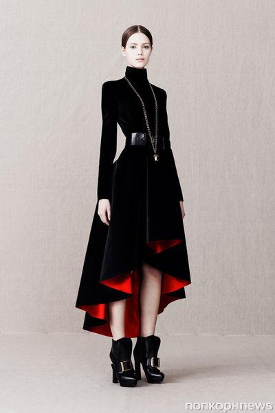 Пре-коллекция Alexander McQueen. Осень 2013