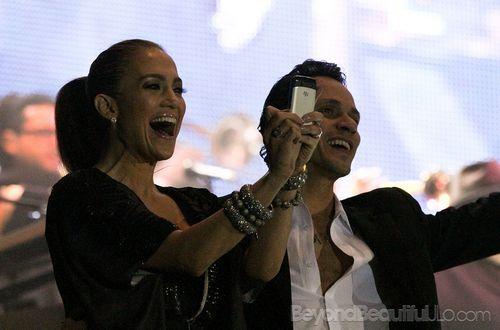 Дженнифер Лопес поддерживает мужа в Мексике