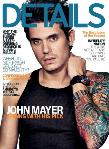 Джон Майер в журнале Details. Декабрь 2009