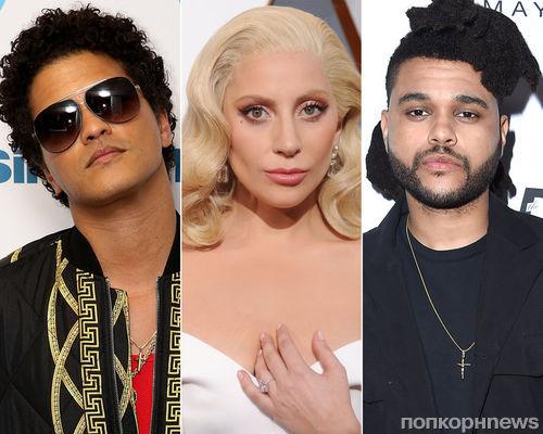 Леди Гага, Бруно Марс и The Weeknd выступят на показе Victoria's Secret 2016
