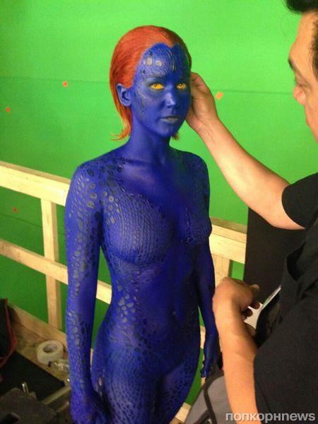 «Люди Икс: Дни минувшего будущего»: первый взгляд на Дженнифер Лоуренс в роли Мистик