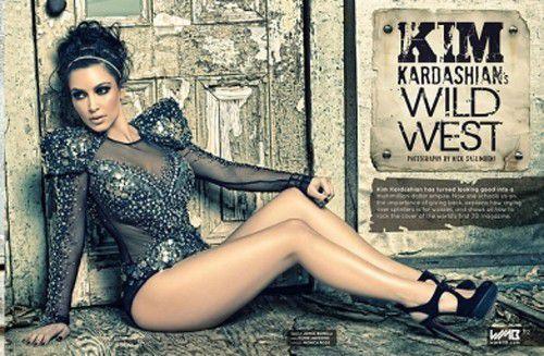 Ким Кардашиан снялась для 3D-журнала