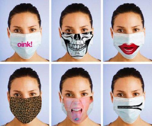 Интересные штучки: Дизайнерские маски от свиного гриппа