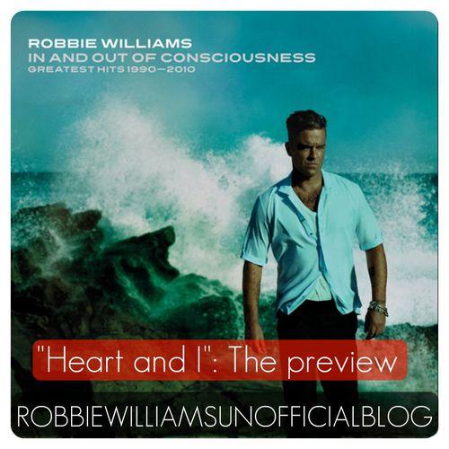 "Новая песня Робби Уильямса ""Heart and I"""