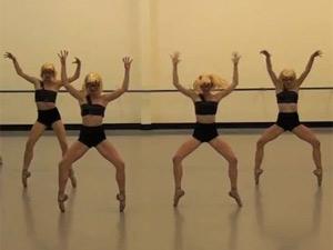 Видео: королевский балет Новой Зеландии танцует под Lady Gaga