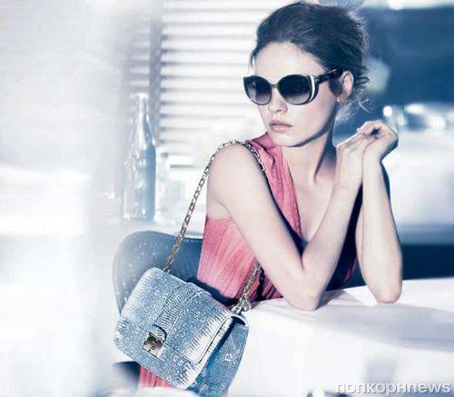 Мила Кунис в рекламной кампании Dior Summerset. Весна / лето 2012