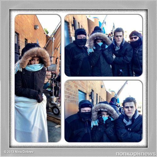 Звезды в Твиттере: Ванесса Хадженс замерзает в Нью-Йорке, а у Тома Хиддлтона теплая компания в Гвинее