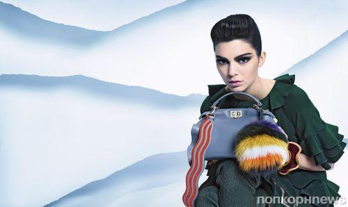 Кендалл Дженнер снялась в рекламной кампании Fendi осень-зима 2016-2017