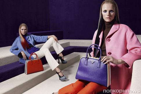 Рекламная кампания Prada. Осень / зима 2012