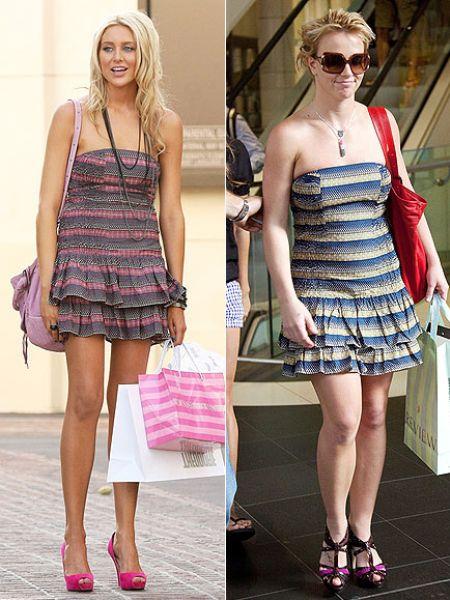 Fashion battle: Стефани Пратт и Бритни Спирс