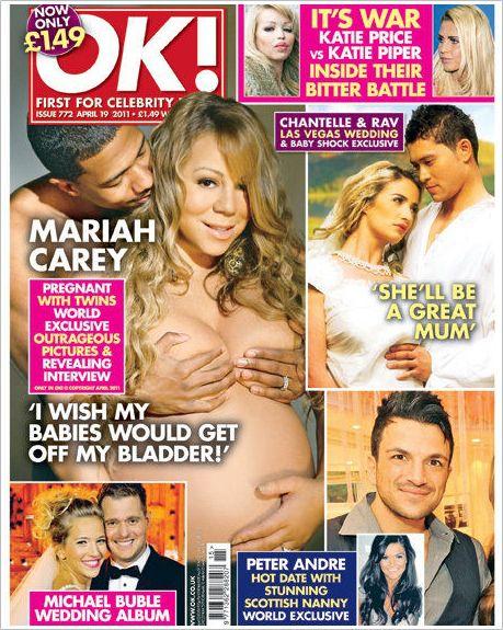 Эксклюзивные фото Мэрайи Кэри для журнала ОК!