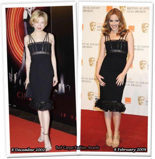Fashion battle: Рене Зеллвегер и Кайли Миноуг