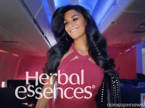 Николь Шерзингер в рекламе Herbal Essences
