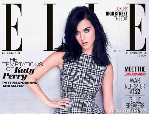 Кэти Перри в журнале Elle Великобритания. Сентябрь 2013