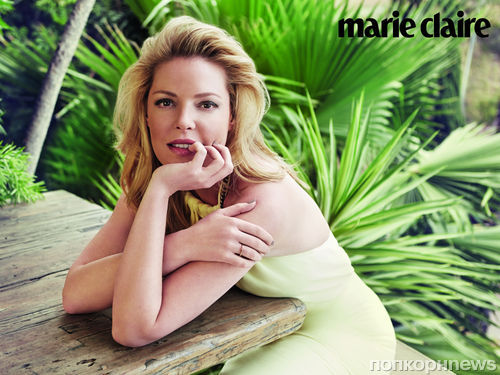 Кэтрин Хейгл в журнале Marie Claire Великобритания. Август 2014