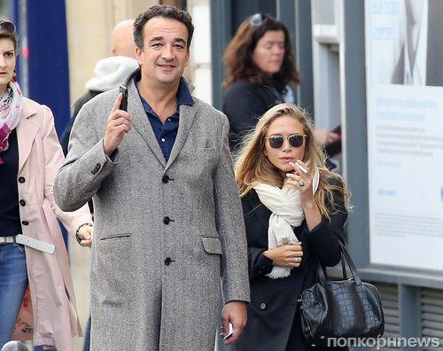 Мэри-Кейт Олсен тайно вышла замуж за Оливье Саркози