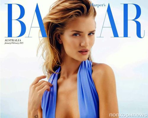 Роузи Хантингтон-Уайтли в журнале Harper's Bazaar Австралия. Январь 2015