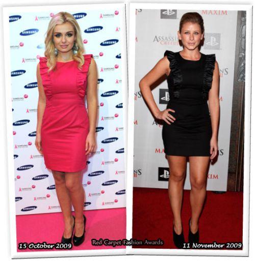 Fashion battle: Кэтрин Дженкинс и Лорен Босуорт