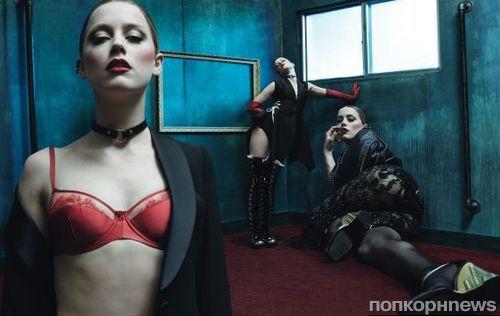 ����� ���� � ������� W Magazine. ���� / ���� 2014