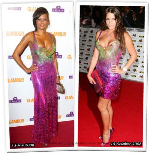 Fashion battle: Мел Би и Даниель Ллойд