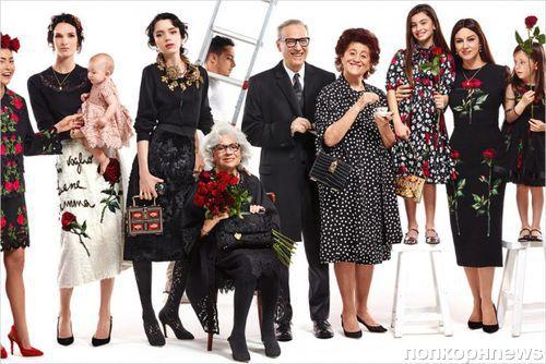 Моника Беллуччи снялась в новой рекламной кампании Dolce & Gabbana. Осень / зима 2015