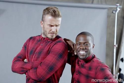 Видео: Кевин Харт и Дэвид Бекхэм в новой рекламе H&M
