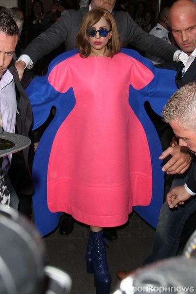 Lady Gaga в Париже
