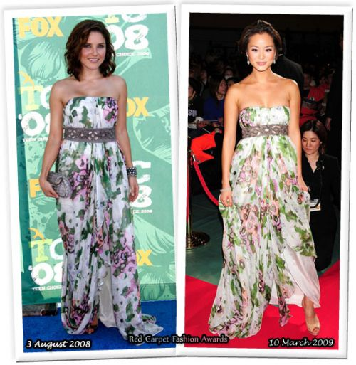 Fashion battle: София Буш и Джейми Чанг