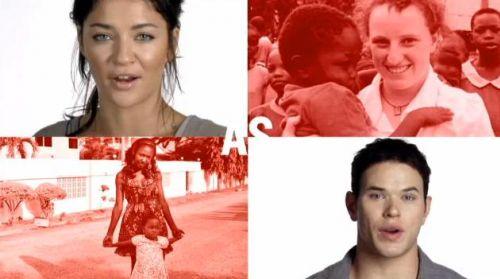 Видео: звезды поддерживают борьбу со СПИДом