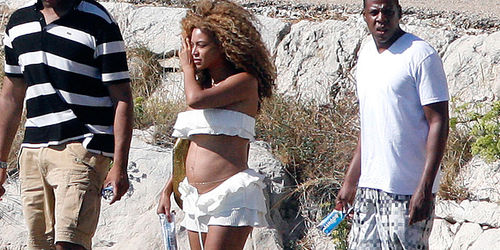 Бейонсе и Jay-Z в Хорватии