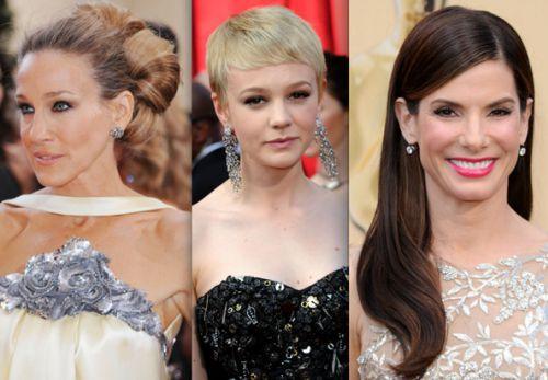 Лучшие прически на Оскар 2010