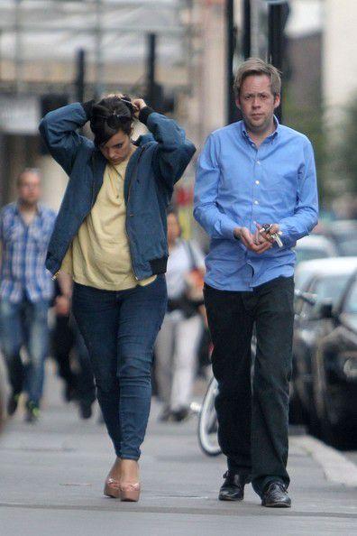 Лили Аллен и Сэм Купер в Лондоне