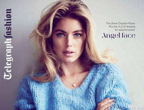 Даутцен Крез в журнале Telegraph Fashion. Осень / зима 2013-2014