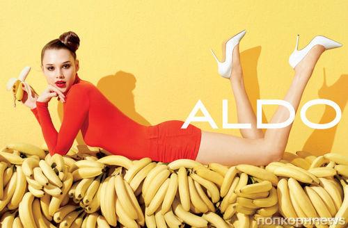 Яркая весенняя рекламная кампания обуви Aldo
