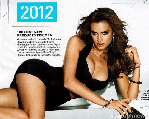 Ирина Шейк в журнале Men's Health. Декабрь 2011