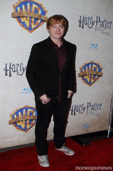 Звезды «Гарри Поттера» на вечере по случаю выхода DVD